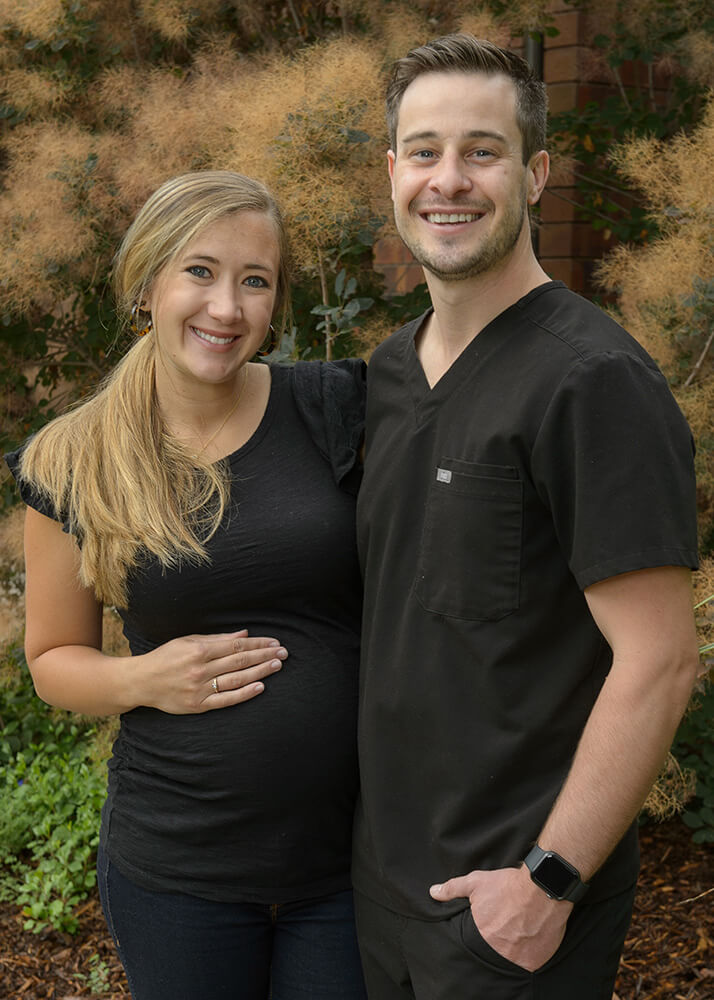 Dr. Shawn Custer and his wife
