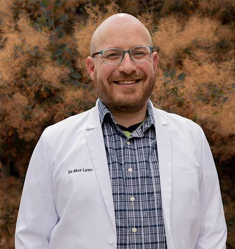 Dr. Max Lyon, a dentist at Parkview Family Dental in Greeley, CO
